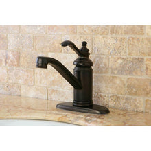 "Load image into Gallery viewer, Kingston Brass Templeton 4"" Single Handle Bathroom Faucet"