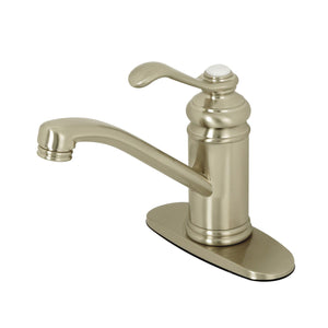 Kingston Brass Templeton Single-Handle Bathroom Faucet with Push Pop-Up