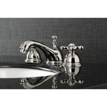 Load image into Gallery viewer, Kingston Brass Restoration Cross Handle Bathroom Bridge Faucet