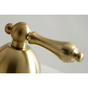 Kingston Brass Restoration Lever Handle Bathroom Bridge Faucet