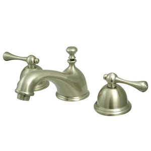 Kingston Brass Vintage 8 in. Widespread Bathroom Faucet with Matching Pop-Up Drain