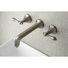 Load image into Gallery viewer, Kingston Brass Metropolitan 2-Handle Wall Mount Bathroom Faucet