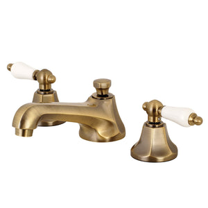 Kingston Brass Metropolitan 8 in. Widespread Bathroom Faucet with Porcelain Lever Handles