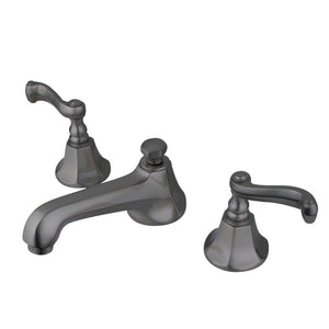 Kingston Brass Royale 8 in. Widespread Bathroom Faucet with Matching Pop-Up Drain
