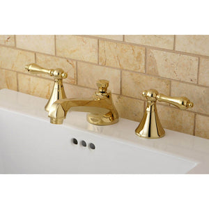 Kingston Brass 8 in. Widespread Bathroom Faucet with Lever Handles