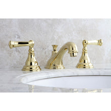 Load image into Gallery viewer, Kingston Brass Royale 8 in. Widespread Bathroom Faucet with Retail Pop-Up