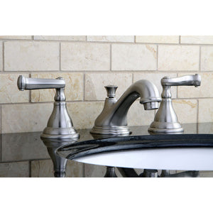 Kingston Brass Royale 8 in. Widespread Bathroom Faucet with Retail Pop-Up
