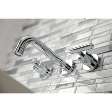 Load image into Gallery viewer, Kingston Brass Manhattan 2-Handle 8 in. Wall Mount Bathroom Faucet