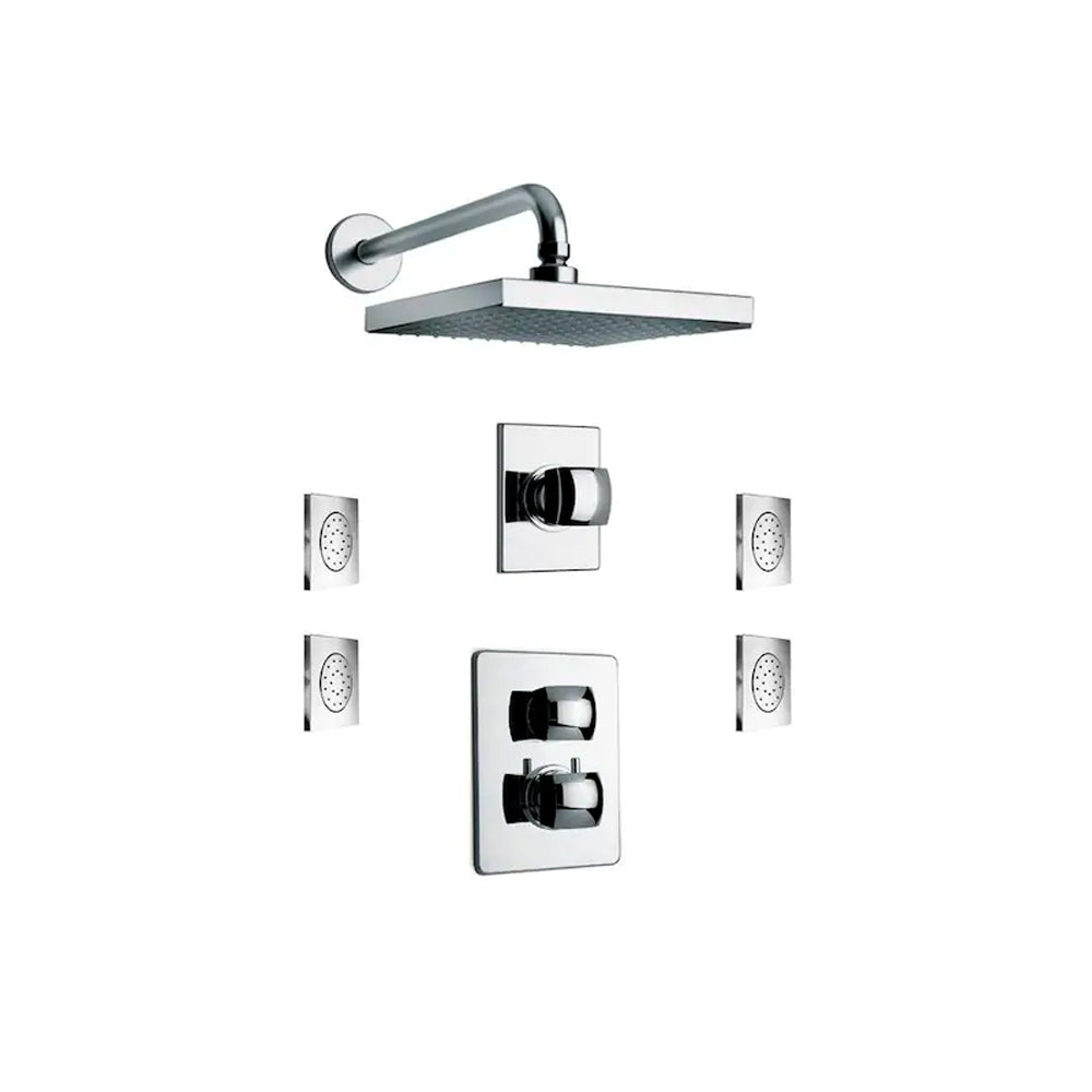 LaToscana Lady Thermostatic Shower with 3/4