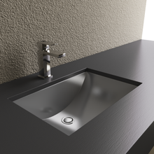 Load image into Gallery viewer, Cantrio Koncepts Rectangular Stainless Steel Undermount Sink - Brushed Finish