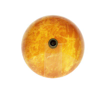 Load image into Gallery viewer, Polaris P506 Round Orange/Gold Hand Painted Bathroom Vessel Sink and Waterfall Faucet Ensemble