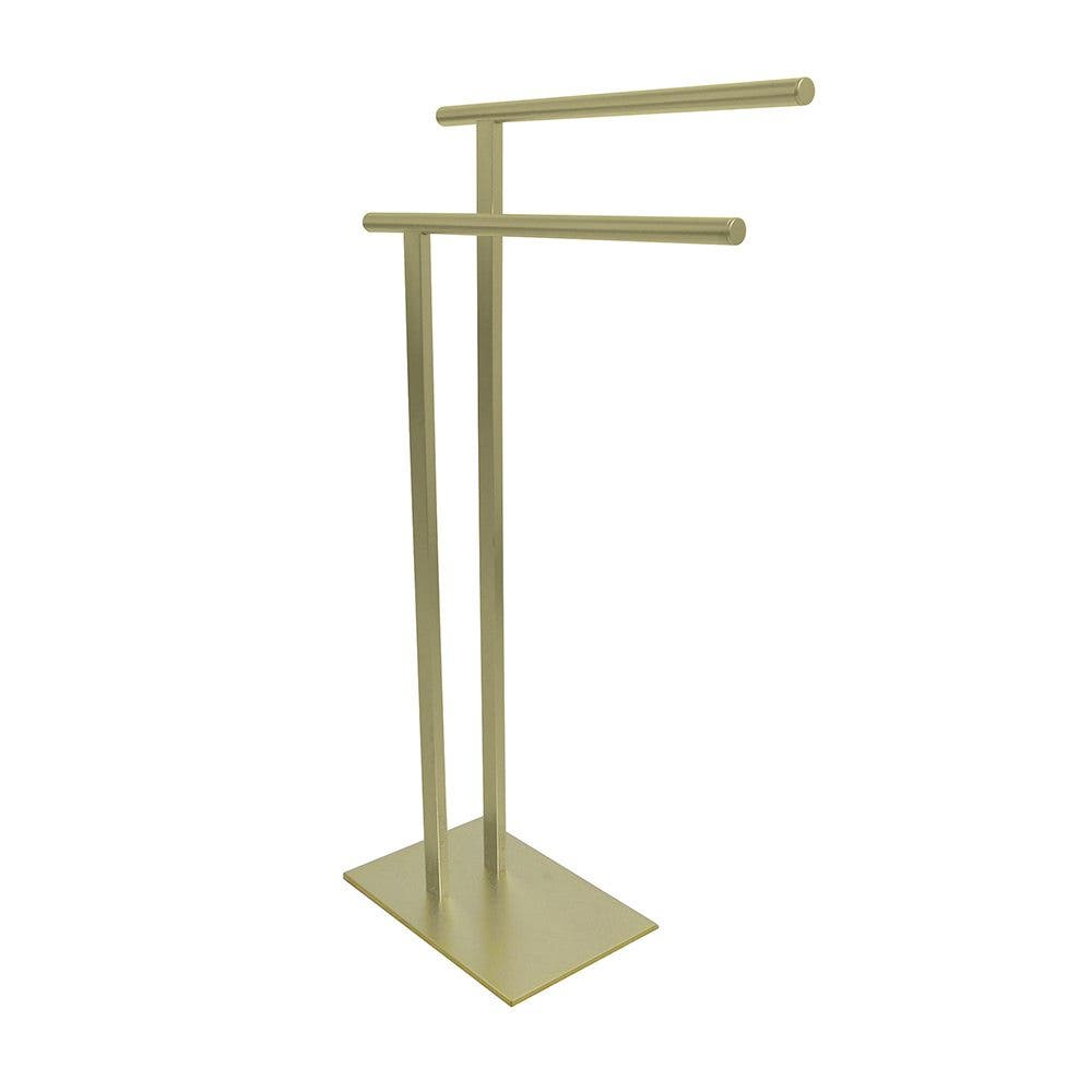 Kingston Brass Freestanding Double Towel Rack