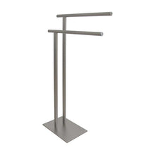 Load image into Gallery viewer, Kingston Brass Freestanding Double Towel Rack