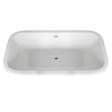 Load image into Gallery viewer, Kingston Brass Aqua Eden 67-Inch Cast Iron Double Ended Clawfoot Tub (No Faucet Drillings)