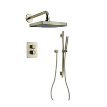 Load image into Gallery viewer, LaToscana Lady Thermostatic Shower with 2-Way Diverter Volume Control and Slide Bar