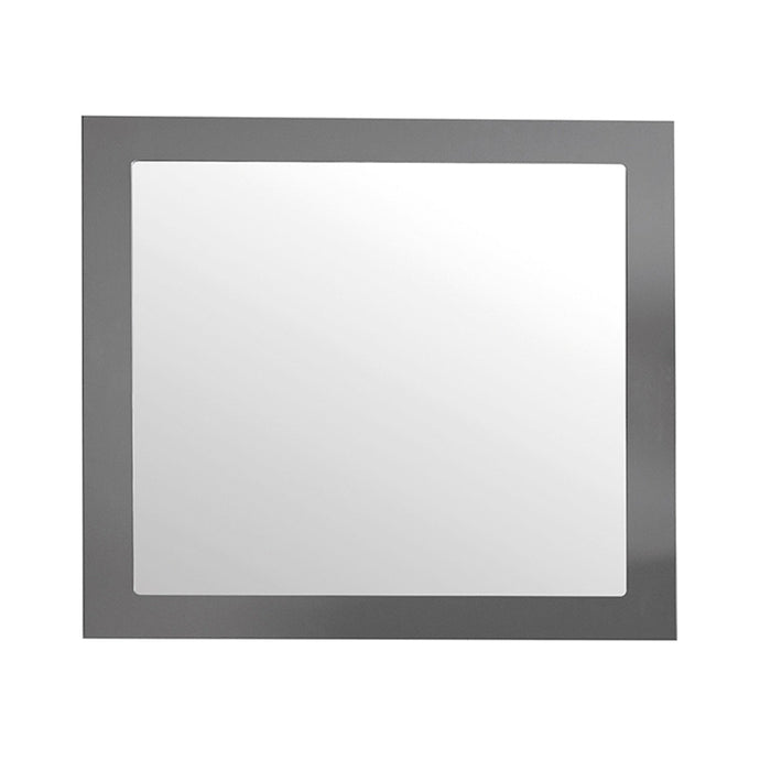 LAVIVA Fully Framed 36 x 30 inch Rectangular Mirror
