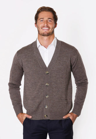 Casual Guy's by Fratelli Classic button wool Cardigan