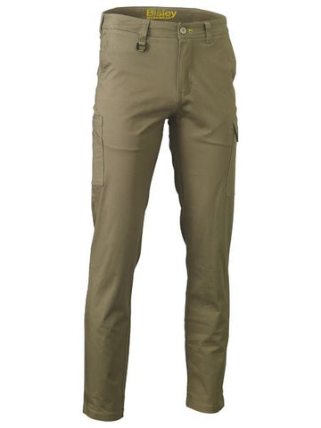 STRETCH COTTON DRILL CARGO PANTS