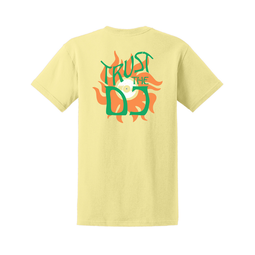 Trust The DJ Shirt (Yellow)