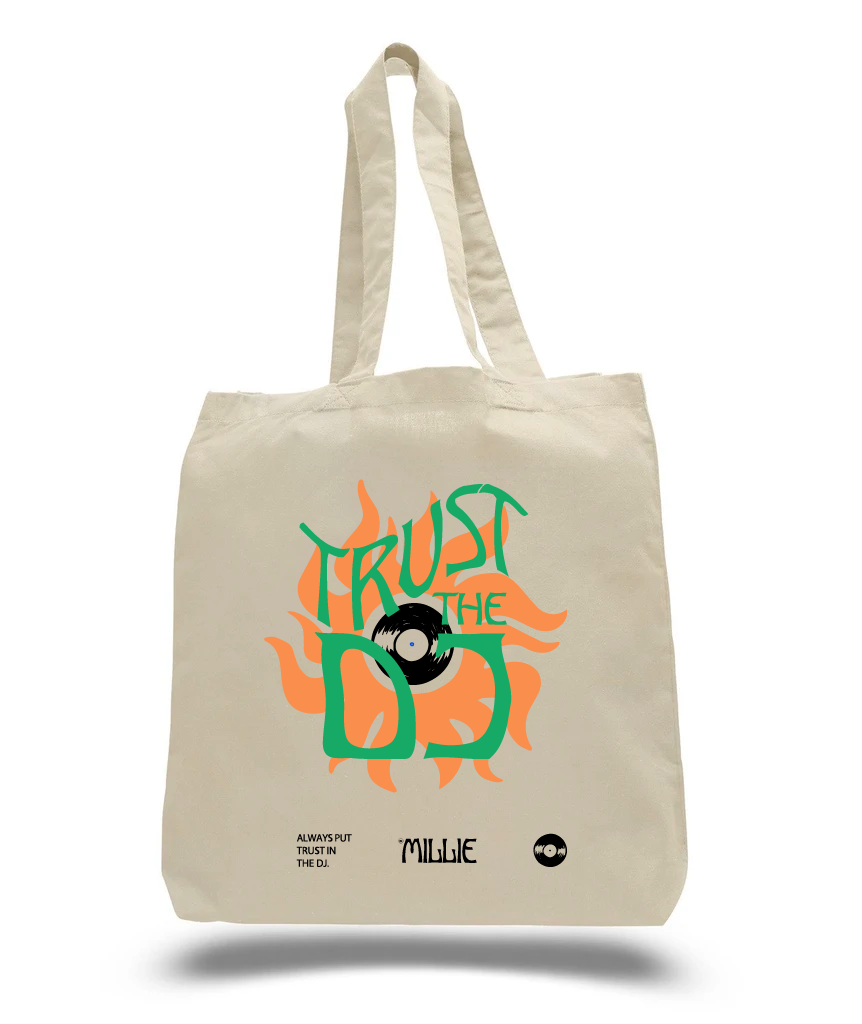 Trust The DJ Tote Bag