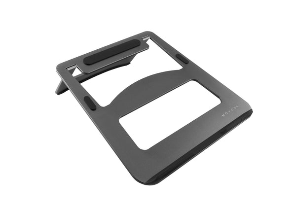 Lumo | Foldable Ergo Laptop Stand - Space Grey