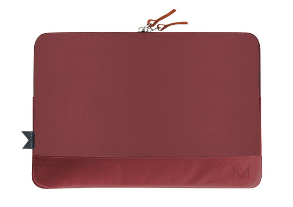 "cloak | 13-14"" Charging Sleeve - Merlot Leather"