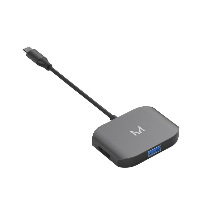lynk | USB-C Adapter HDMI + x2 USB-A | Space Grey