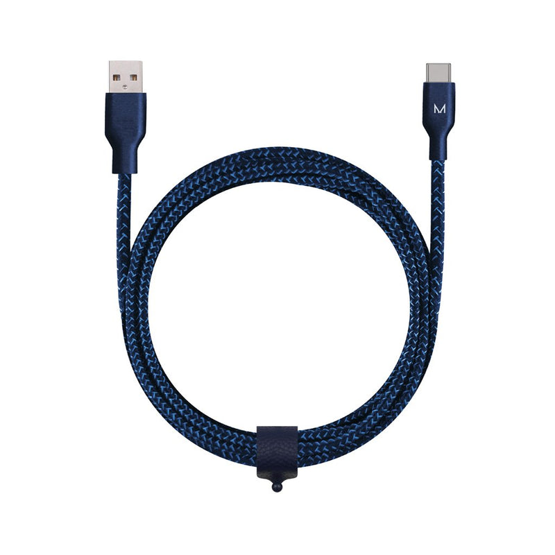 cord+ 2m USB-A to USB-C Nylon Cable