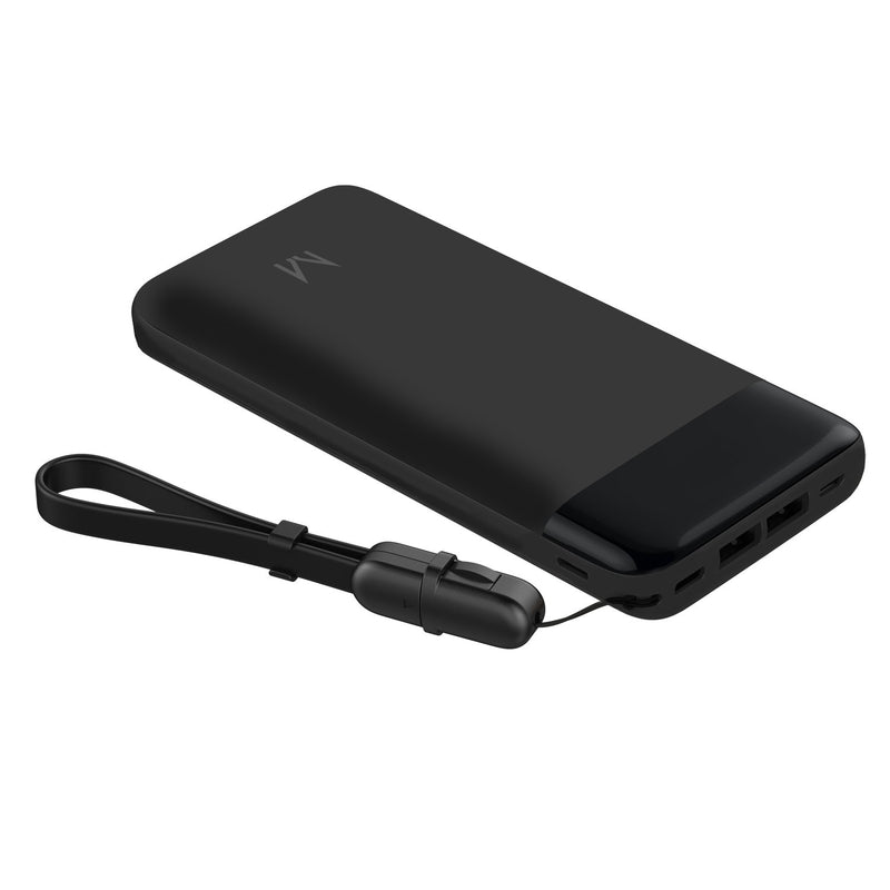 watt+ 20,000mAh PD Quick Charge Power Bank | Raven Black