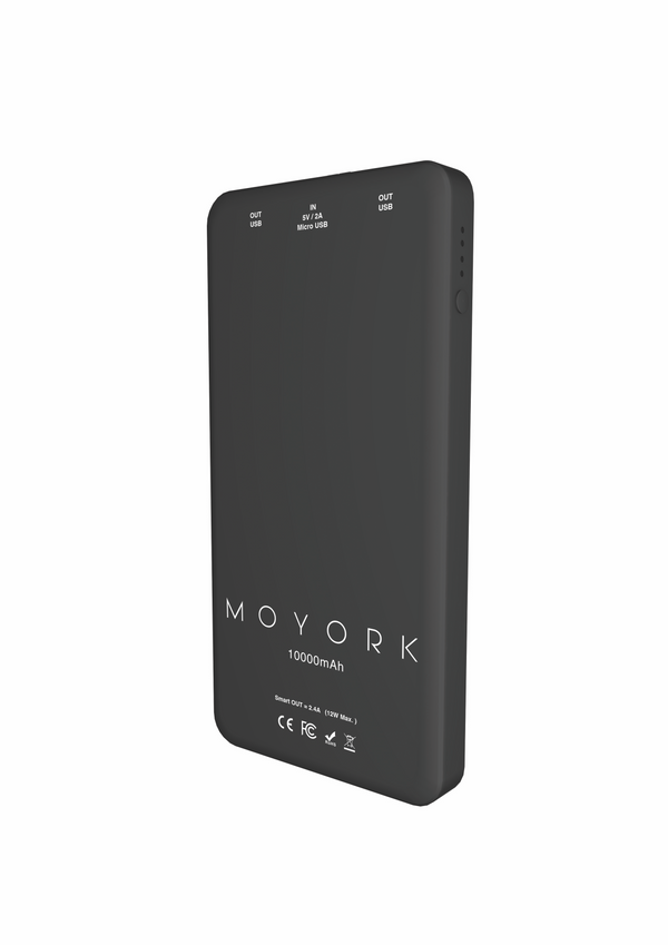 lumo 10000mAh power bank</br>raven black - MOYORK CO