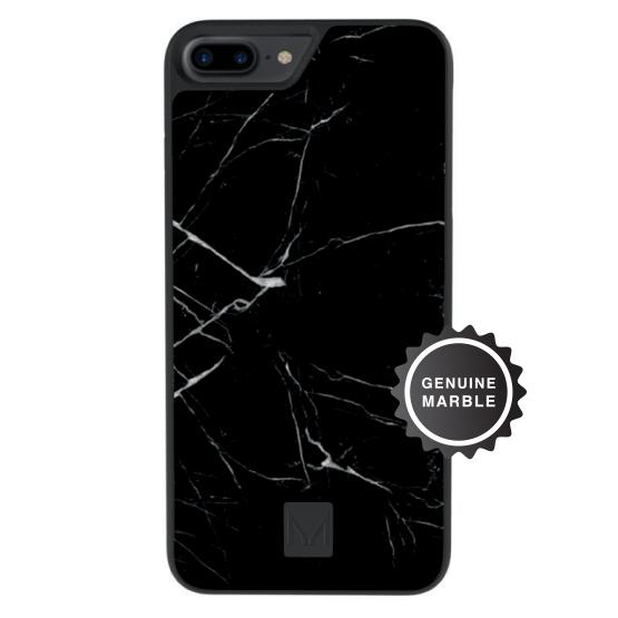 stone | marble case</br>raven black | iPhone 8 Plus/7 Plus/6s Plus/6 plus - MOYORK CO