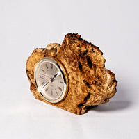 Clock - Burl Maple - Melanie - MH Studios