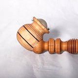 Smoking Pipe - Cherry lathe milled - Melanie - MH Studios