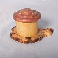 Small Organic Wooden Jewelry Box - Cedar and Bamboo- # 5 - Melanie - MH Studios