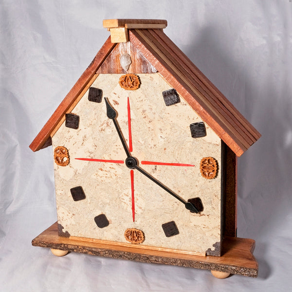 Clock House - Cork and Bolivian Rosewood - Melanie - MH Studios