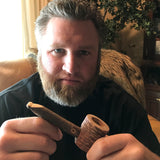 Smoking Pipe - Maple with limb stem