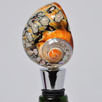 Turbo Sarmaticus Shell Bottle stopper - Melanie - MH Studios