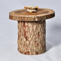 Natural wooden pet urn, 2/3 cup Volume - Melanie - MH Studios
