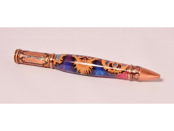 Pen - Montague Antique Copper Twist Pen - Melanie - MH Studios