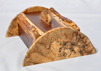 Box - Walnut and spalted Maple Box - Melanie - MH Studios