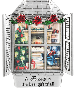A Friend is the best gift of all Ornament