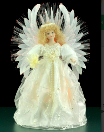 Fibre Optic Ivory Angel
