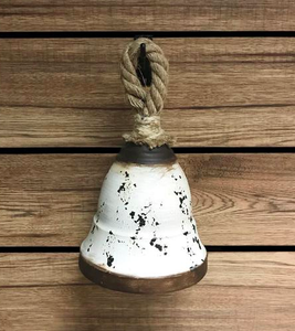 Antique White Bell