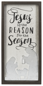 Jesus is the Reason Box Plaque