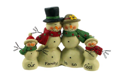 Snowman Family So Cool Figures