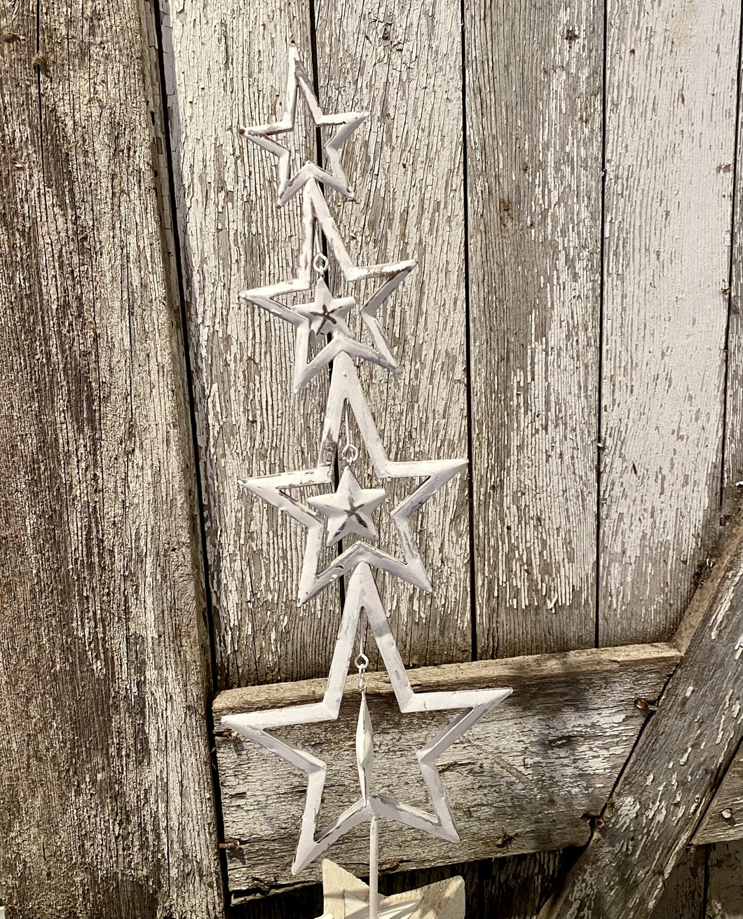 19 inch metal star tree