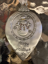 Load image into Gallery viewer, Engraved Metal Ornaments - 7 asst