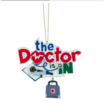 Doctor is In ornament