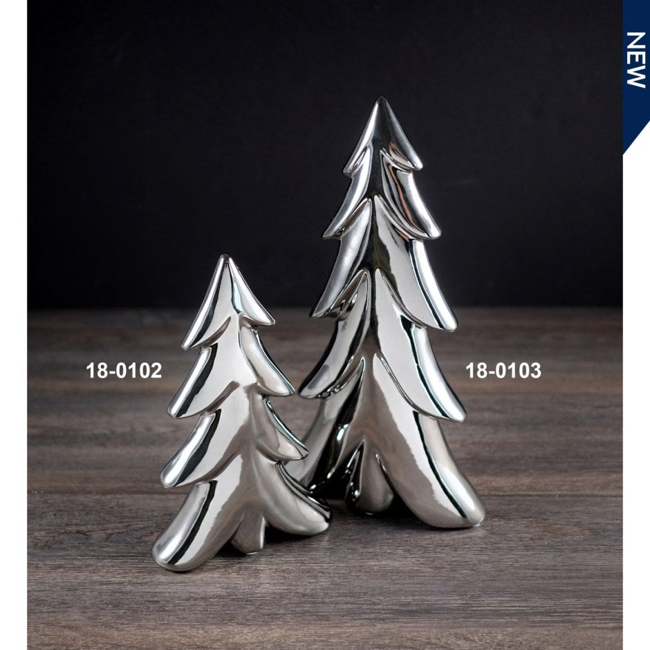 Silver Shiny Tree - 2 styles