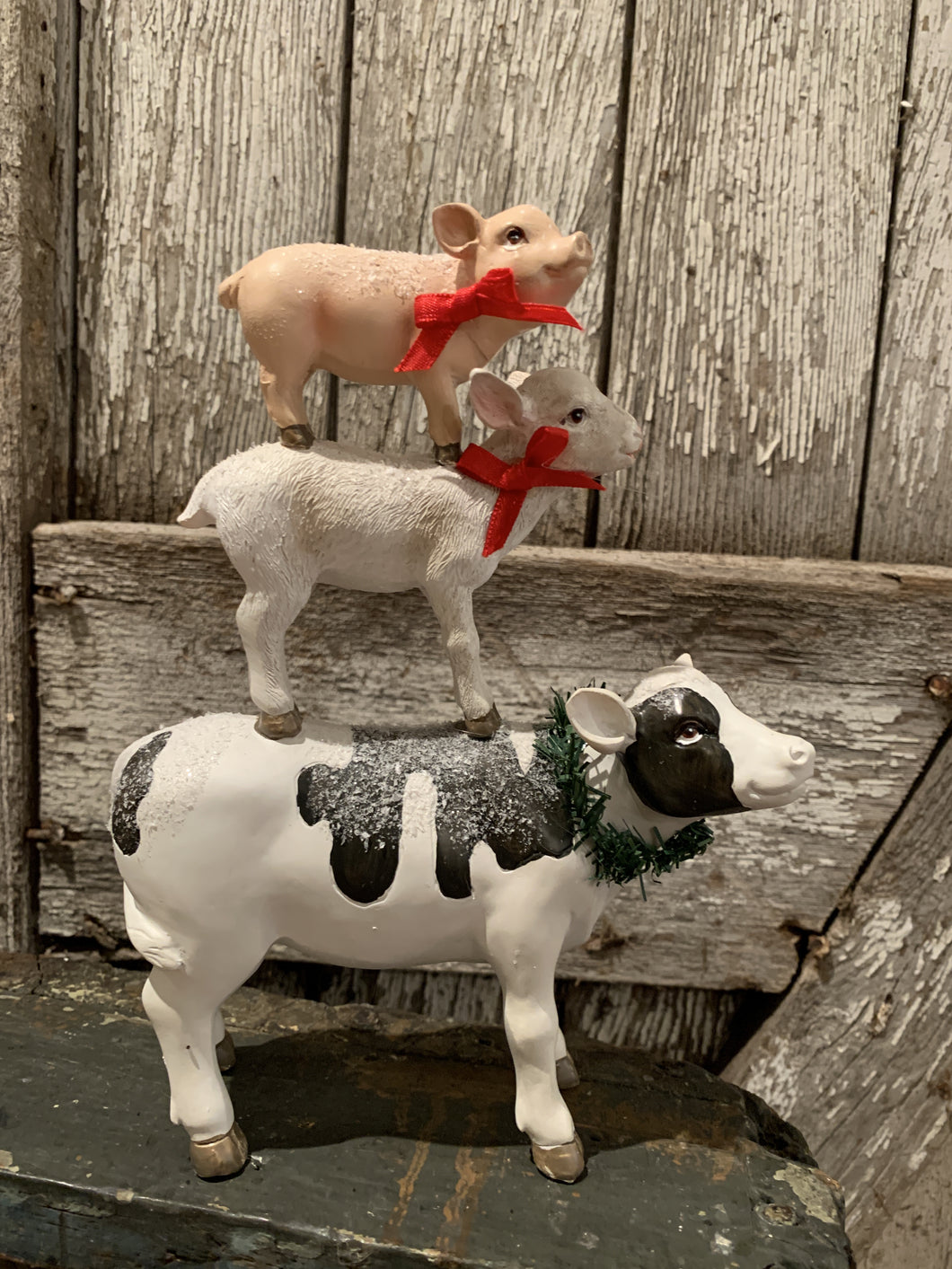 Stacking Farm Animals Figure